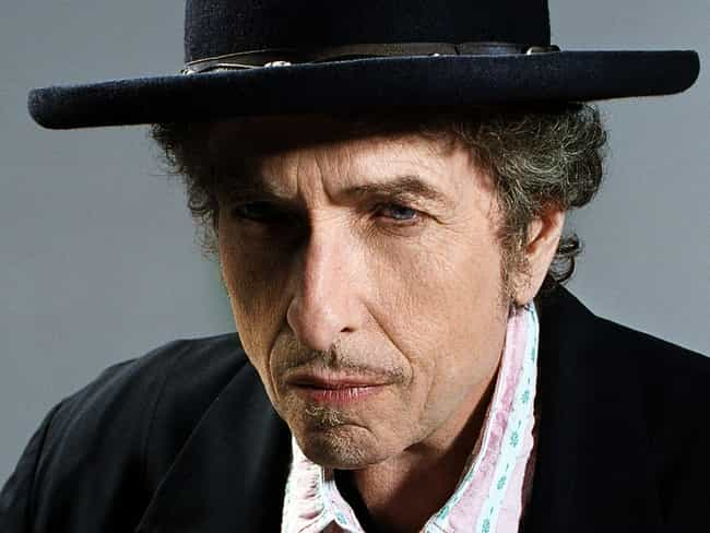 Bob Dylan is listed (or ranked) 4 on the list 30+ Celebrities Who Are Born-Again Christians