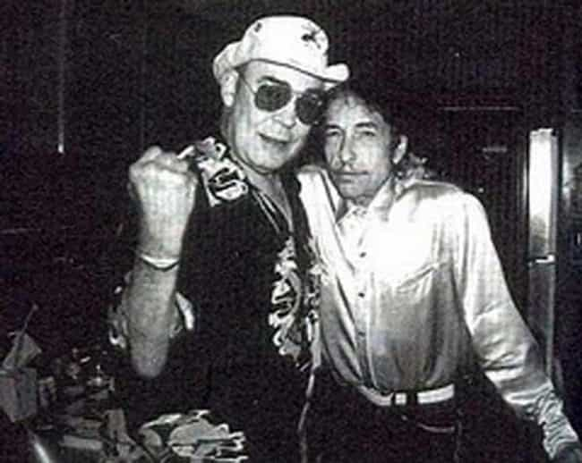 Bob Dylan is listed (or ranked) 3 on the list Hunter S. Thompson's Iconic and Famous Friends