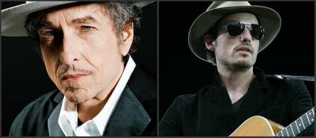 Bob Dylan is listed (or ranked) 6 on the list 17 Celebrities with Kids Born Decades Apart