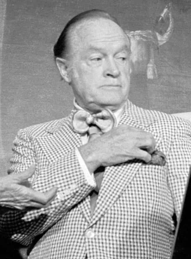 Bob Hope is listed (or ranked) 1 on the list Men Who Barbara Payton Has Dated