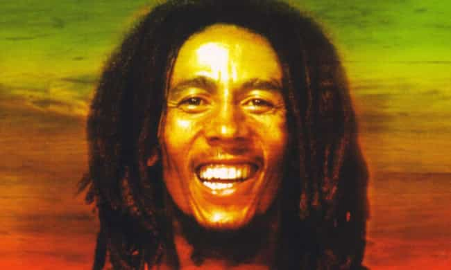 Bob Marley is listed (or ranked) 4 on the list 50 Famous Celebrities of Caribbean Descent