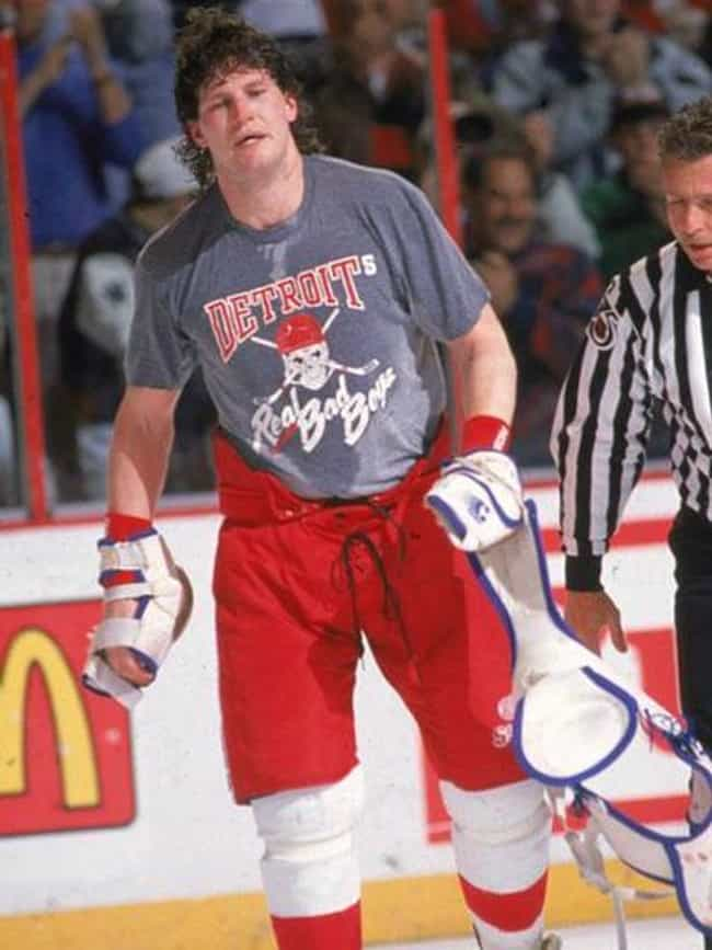 Bob Probert is listed (or ranked) 3 on the list Famous Athletes Convicted of Drug Charges