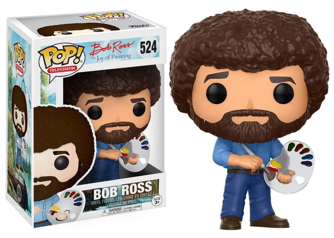 Bob Ross is listed (or ranked) 1 on the list Funko Pops That Actually Look Like The Characters