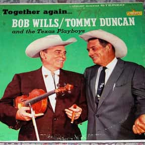 Bob Wills is listed (or ranked) 1 on the list The Best Western Swing Bands/Artists