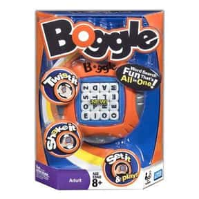 Boggle is listed (or ranked) 14 on the list The Best Family Board Games