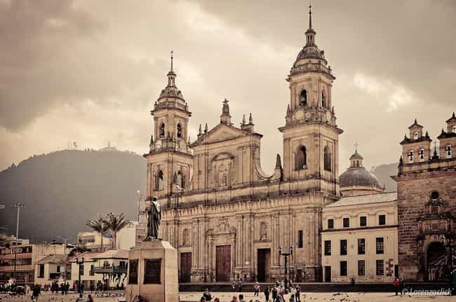 Bogotá is listed (or ranked) 7 on the list The Most Beautiful Cities in South America