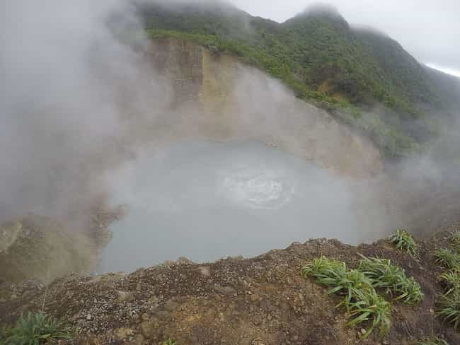 Boiling Lake is listed (or ranked) 3 on the list The Most Dangerous Bodies Of Water In The World