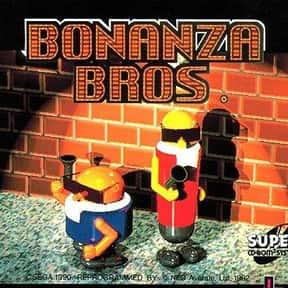 Bonanza Bros. is listed (or ranked) 11 on the list List of Sega Platform Games