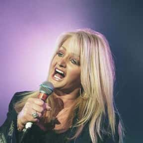 Bonnie Tyler is listed (or ranked) 13 on the list The Best European Female Singers