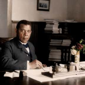 Booker T. Washington is listed (or ranked) 5 on the list List of Famous Educators