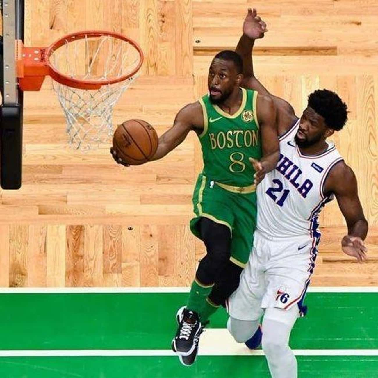 Boston Celtics is listed (or ranked) 4 on the list The Ugliest NBA Jerseys Of The 2019-2020 Season