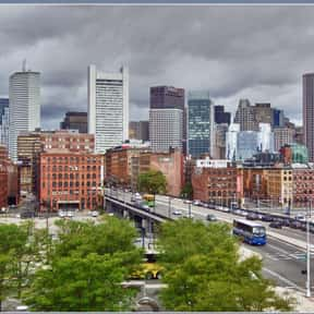 Boston is listed (or ranked) 5 on the list The Best US Cities for Architecture