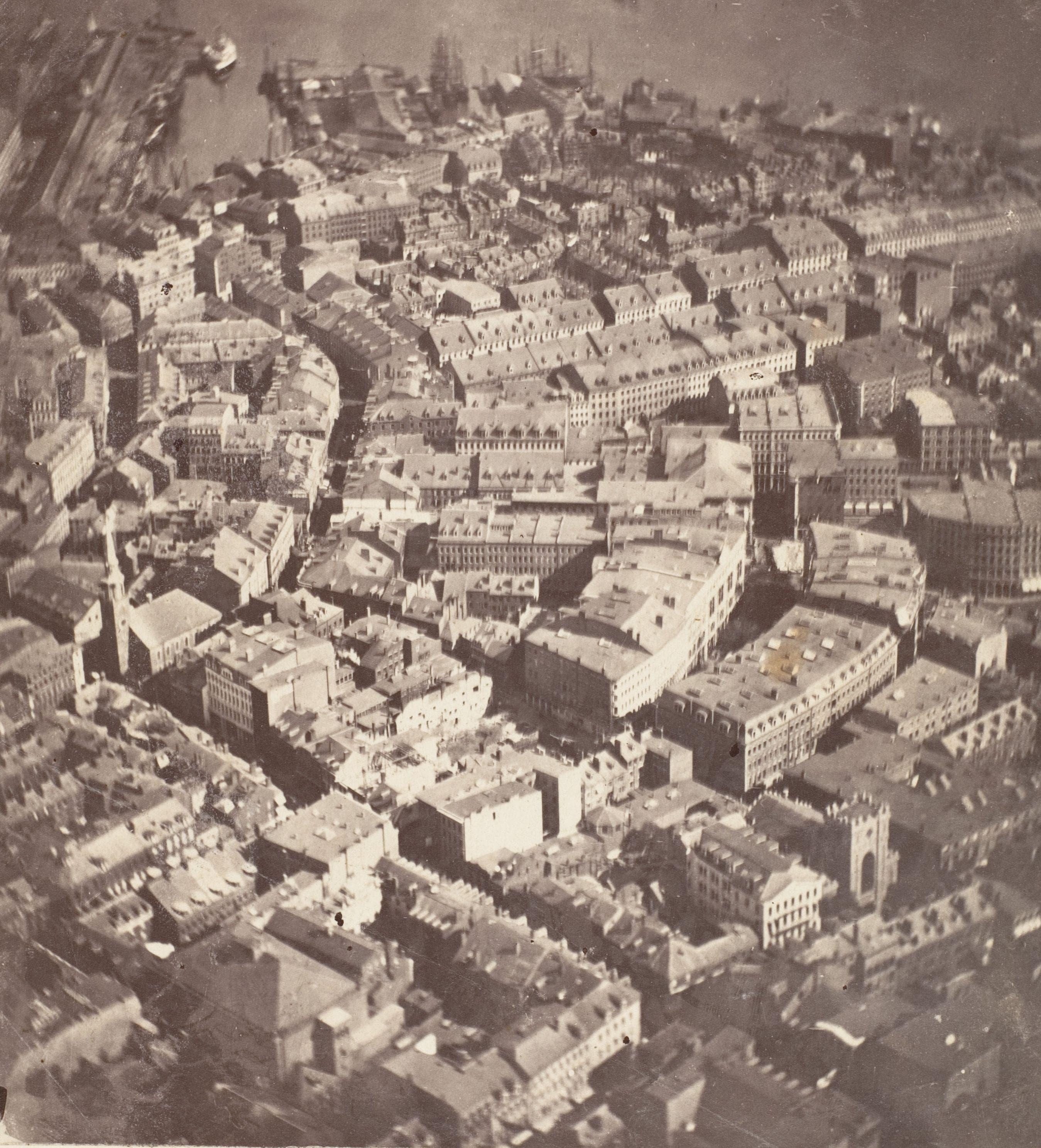 Random Stunning Aerial Photos of Early Cities