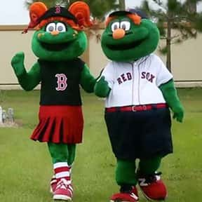 Wally the Green Monster and Te is listed (or ranked) 8 on the list The Best Mascots in Major League Baseball