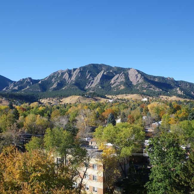 Boulder is listed (or ranked) 3 on the list The Best Places In Colorado To Live