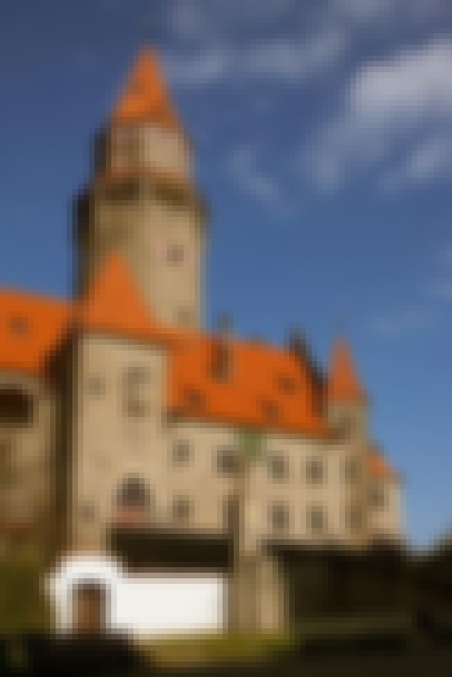 Bouzov Castle is listed (or ranked) 4 on the list The Most Beautiful Castles in Czech Republic