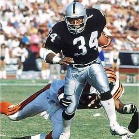 Bo Jackson is listed (or ranked) 3 on the list The Best Oakland Raiders Of All Time