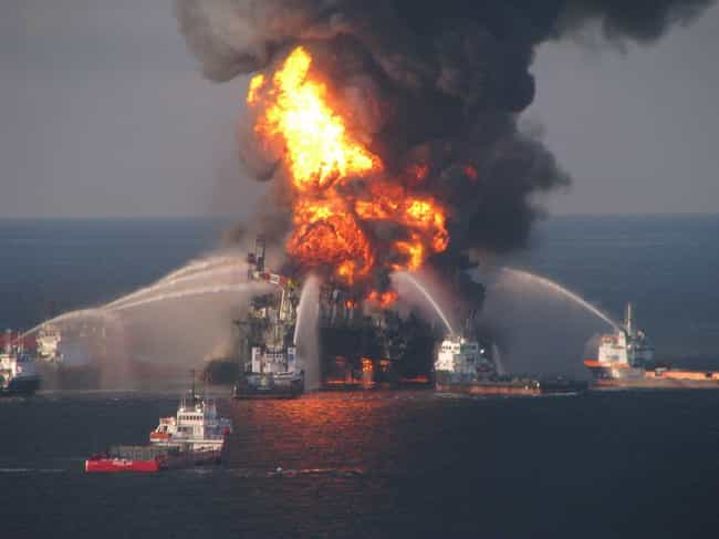 BP is listed (or ranked) 2 on the list Companies Responsible For The Biggest Oil Spills