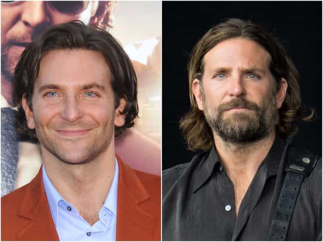 Bradley Cooper is listed (or ranked) 1 on the list Actors Who Actually Look Better With Facial Hair