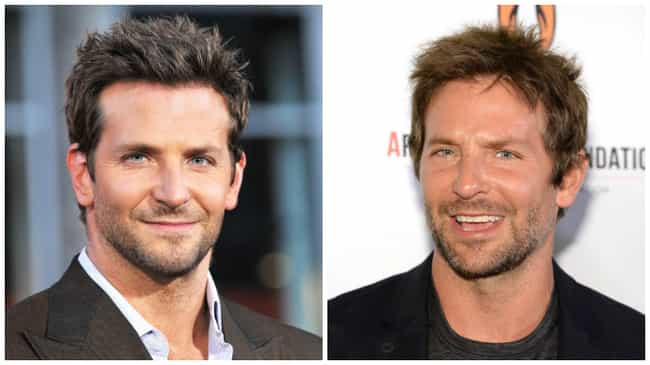 Bradley Cooper is listed (or ranked) 3 on the list 40 Uncanny Celebrity Lookalikes That Are Hard to Believe