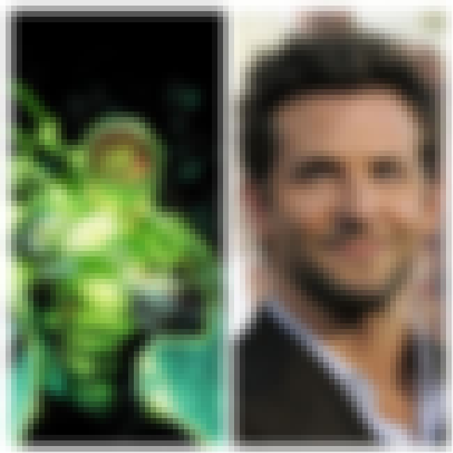 Bradley Cooper is listed (or ranked) 2 on the list Green Lantern Casting Call