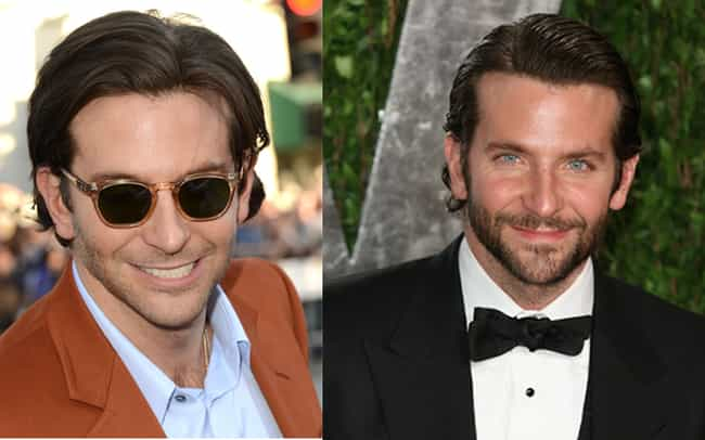 Bradley Cooper is listed (or ranked) 1 on the list 34 Actors Who Actually Look Better With Facial Hair