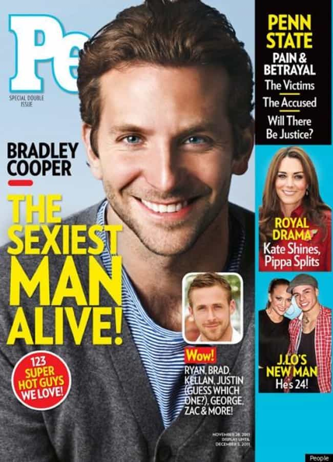 Bradley Cooper is listed (or ranked) 4 on the list The Best People Magazine Covers