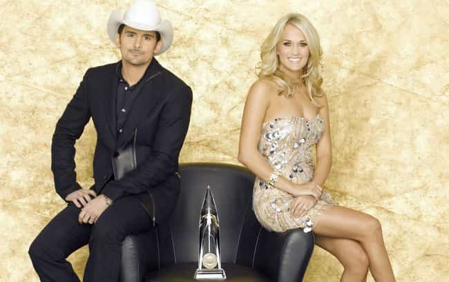 Brad Paisley is listed (or ranked) 5 on the list Famous Friends of Carrie Underwood
