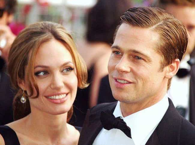 Brad Pitt is listed (or ranked) 1 on the list Angelina Jolie's Loves & Hookups