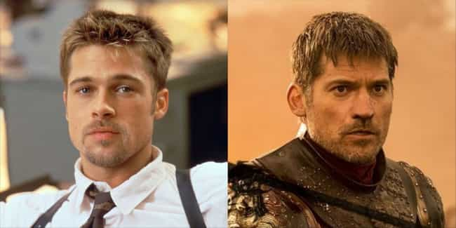 Brad Pitt is listed (or ranked) 4 on the list Who Would Star In 'Game Of Thrones' In The '90s?