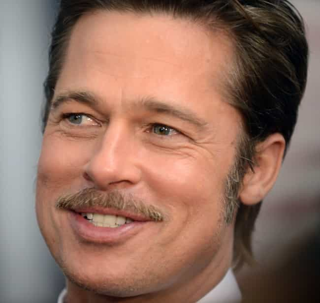 Brad Pitt is listed (or ranked) 4 on the list 20 Celebrities Who Do CrossFit