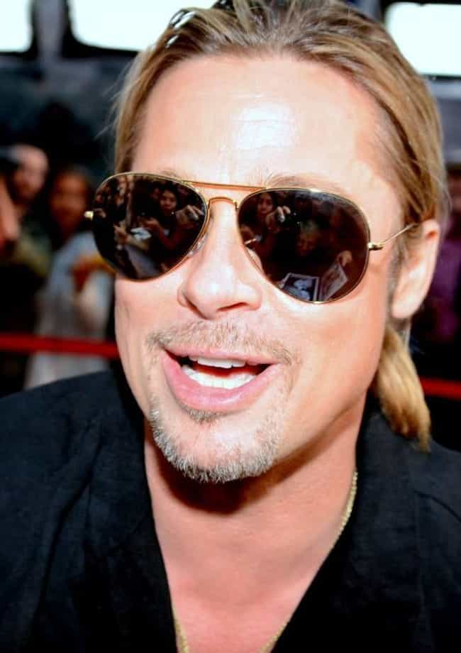 Brad Pitt is listed (or ranked) 2 on the list Celebrities Who Quit Smoking Weed