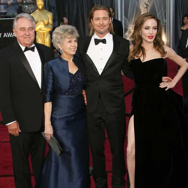 Brad Pitt is listed (or ranked) 4 on the list 32 Actors Who Have Taken Family Members to Award Shows