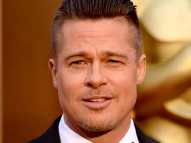 Brad Pitt is listed (or ranked) 1 on the list 17 Celebrities Charged with Indecent Exposure
