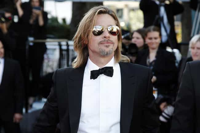 Brad Pitt is listed (or ranked) 4 on the list 24 Celebrities With Weird Collections You Wouldn't Expect