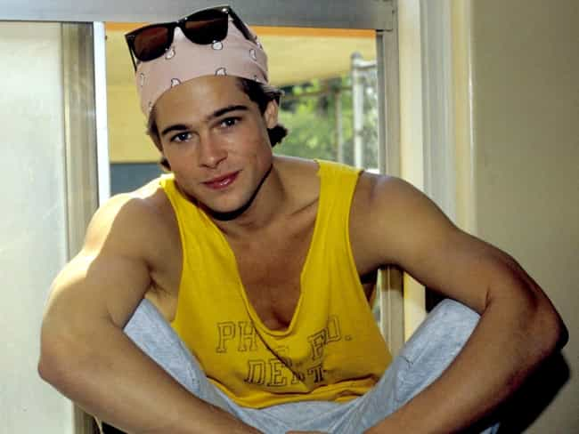 Brad Pitt is listed (or ranked) 3 on the list 40 Adorable Throwback Pictures Of Your Favorite Heartthrobs