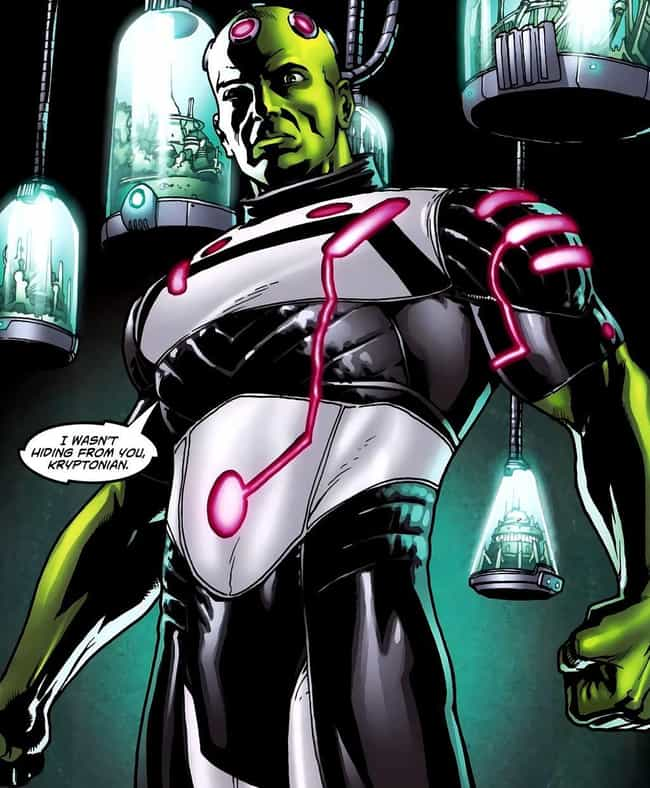 Brainiac is listed (or ranked) 4 on the list 15 Classic Examples of Chaotic Evil Characters