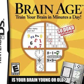 Brain Age: Train Your Brain in is listed (or ranked) 23 on the list The Most Popular Wii U Games Right Now