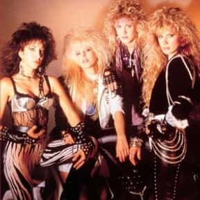 Vixen is listed (or ranked) 8 on the list The Greatest Chick Rock Bands Ever