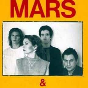 Mars is listed (or ranked) 9 on the list The Best No Wave Bands/Artists