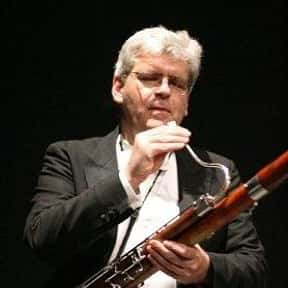Klaus Thunemann is listed (or ranked) 1 on the list The Greatest Bassoonists of All Time