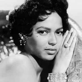 Dorothy Dandridge is listed (or ranked) 21 on the list The Most Beautiful Pin-Up Girls of the '50s