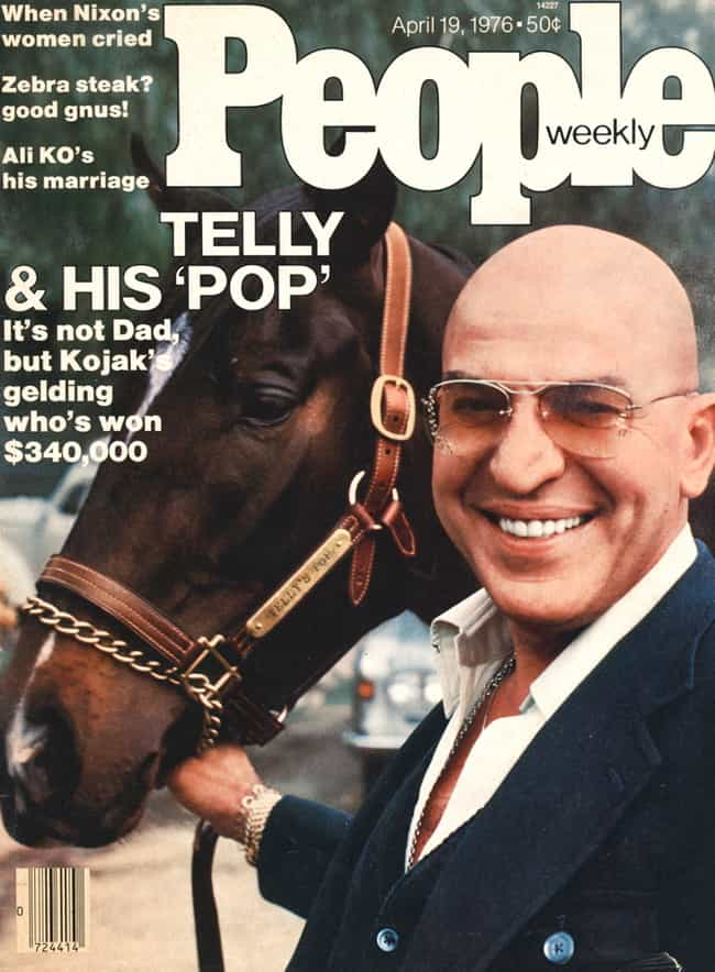 Telly Savalas is listed (or ranked) 2 on the list Famous People Who Died of Bladder Cancer