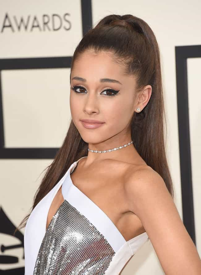 Ariana Grande is listed (or ranked) 3 on the list Famous People Born in 1993
