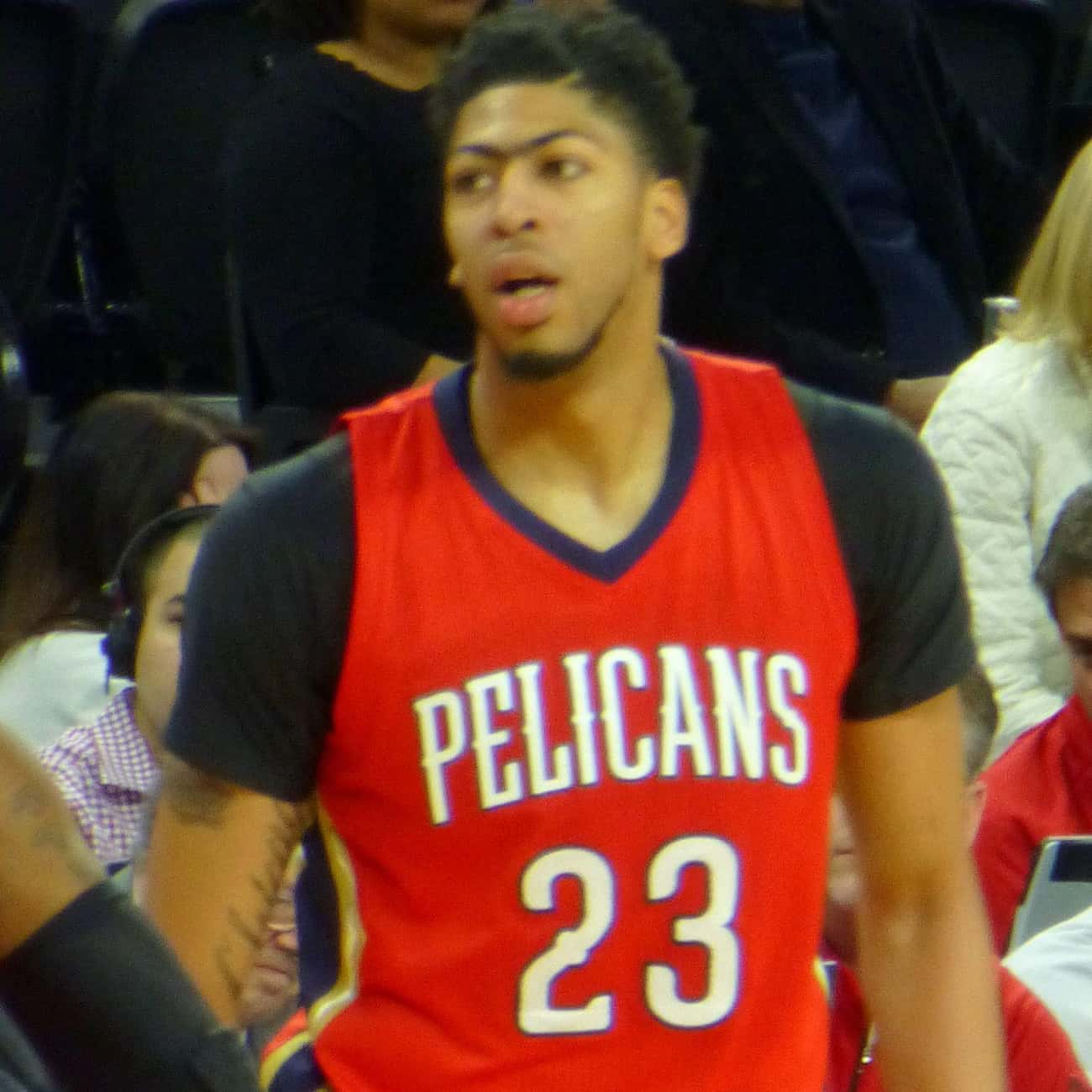 Anthony Davis is listed (or ranked) 4 on the list The Best Athletes Who Wore #23