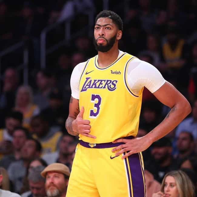 Anthony Davis is listed (or ranked) 1 on the list Which NBA Star Will Win His First Ring?