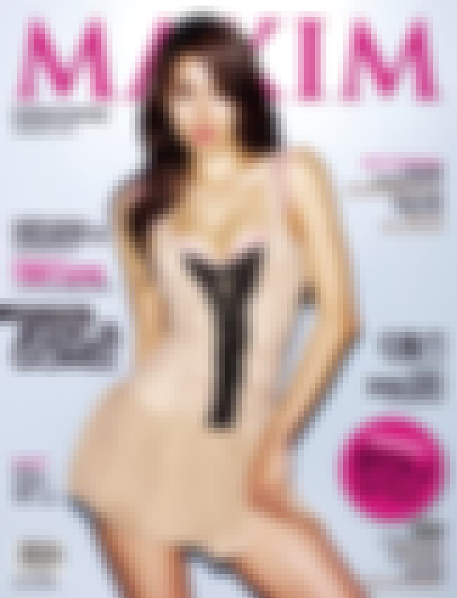 Yoo In-na is listed (or ranked) 2 on the list The Hottest Korean Maxim Cover Girls