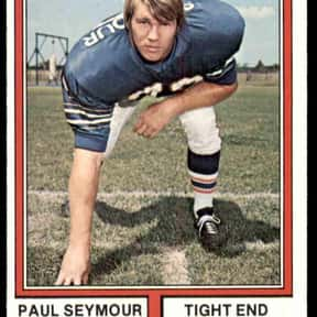 Paul Seymour is listed (or ranked) 11 on the list The Best Buffalo Bills Tight Ends Of All Time
