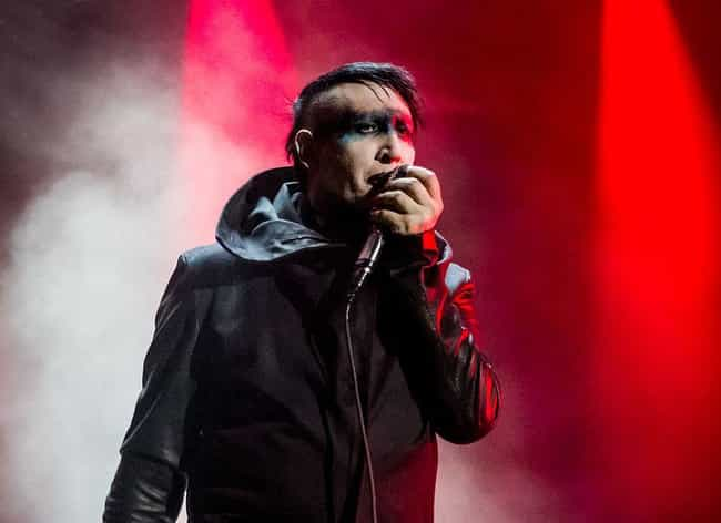 Marilyn Manson is listed (or ranked) 2 on the list Famous People You Didn't Know Had Connections To Satanism