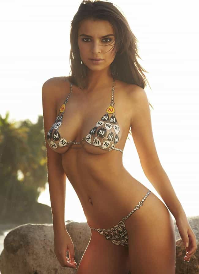 Emily Ratajkowski is listed (or ranked) 3 on the list The Hottest Sports Illustrated Swimsuit Edition Models